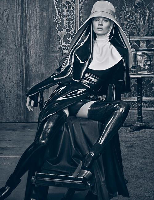 Kate Moss in Atsuko Kudo. Photography: Steven Klein/Art Partner. Via Yahoo.