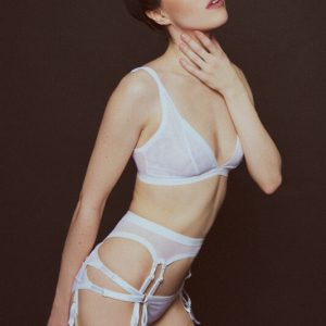 Kayleigh Peddie S/S 2015: Handmade Lingerie with Androgynous Appeal