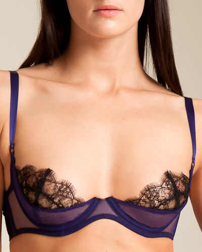 Kiki De Montparnasse - Sheer Lace Shelf Bra