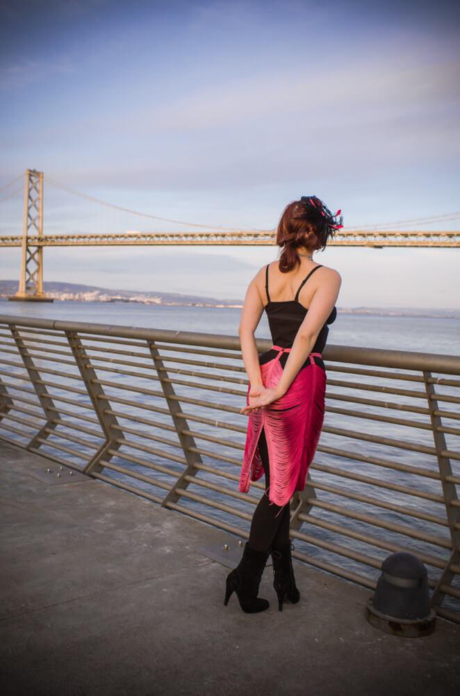 Bodysuit by Les Lunes | Model: Victoria Dagger | Photo © Alyxander Ryan