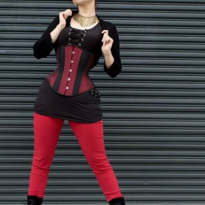 Review: Timeless Trends' Burgundy Hourglass Corset