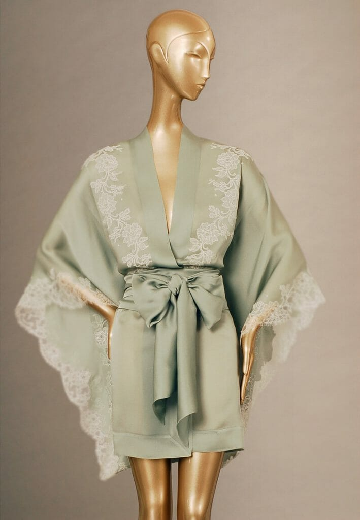 Carine Gilson, luxury couture silk and lace lingerie