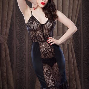 Lingerie Wishlist: Betty Blue's Loungerie 'Nell' Slip and Teddy