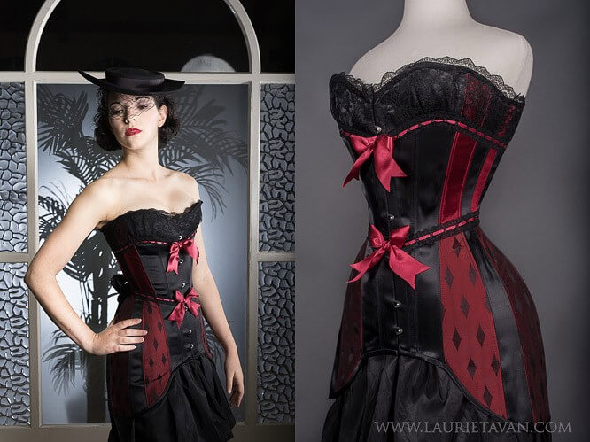 Corsetry by Laurie Tavan