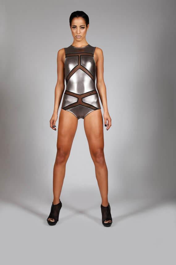 Lena Quist gunmetal bodysuit