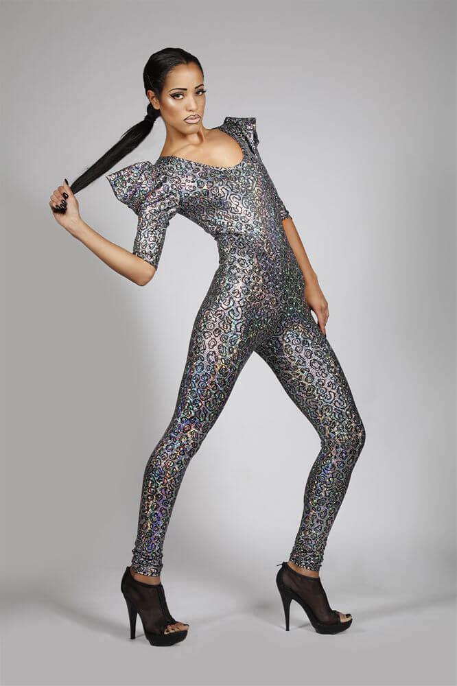 Lena Quist hologram bodysuit
