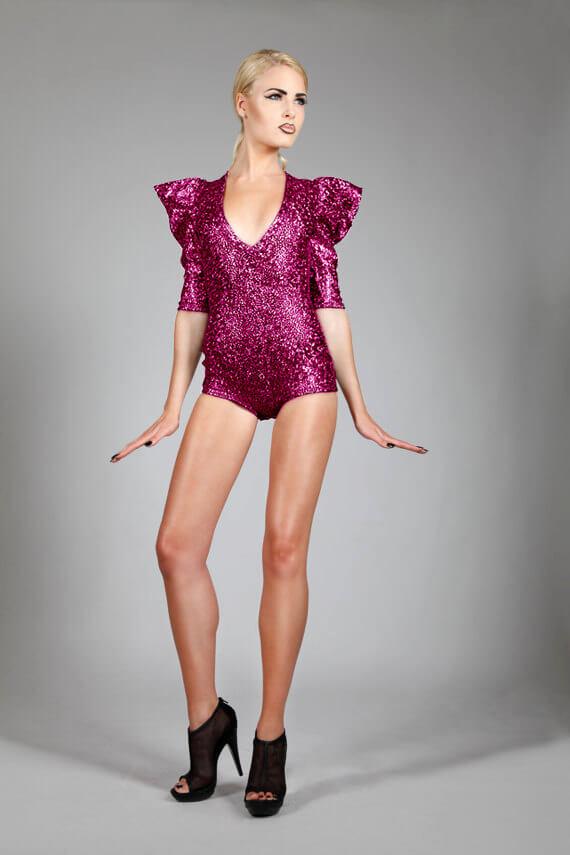 Lena Quist sparkle bodysuit