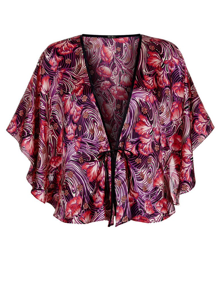 Liberty Print Bed Jacket by Ayten Gasson