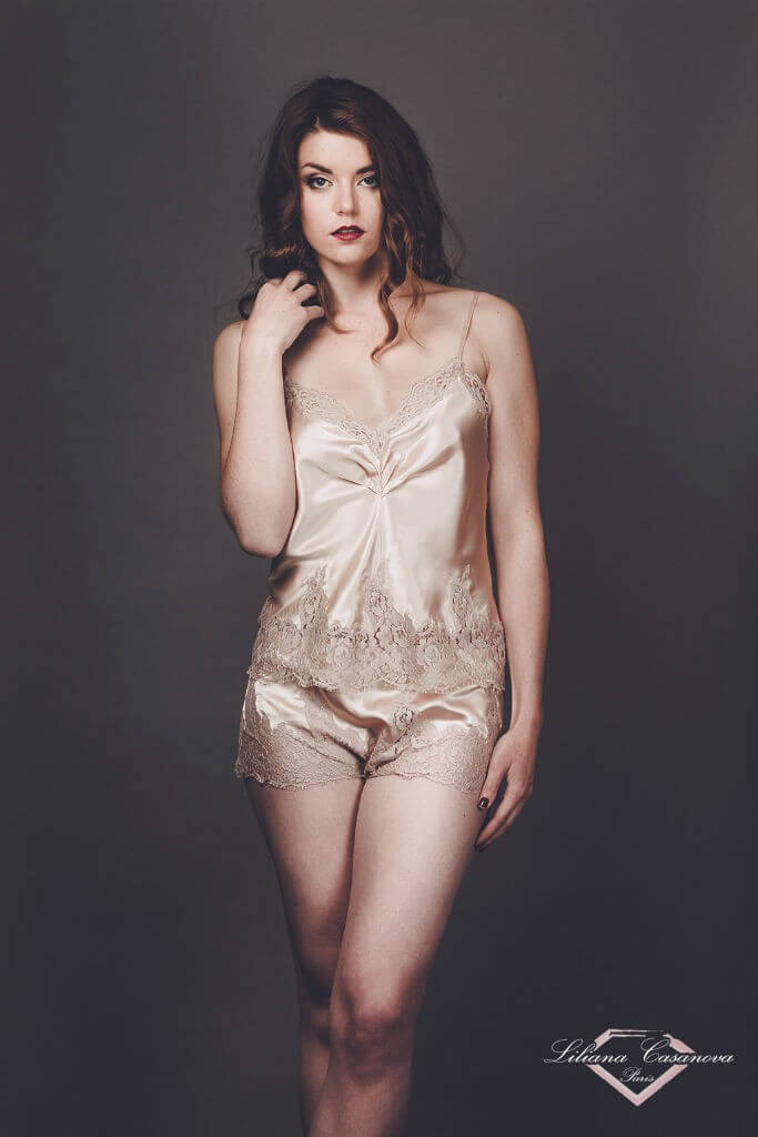 Liliana Casanova Camisole and Shorts Set
