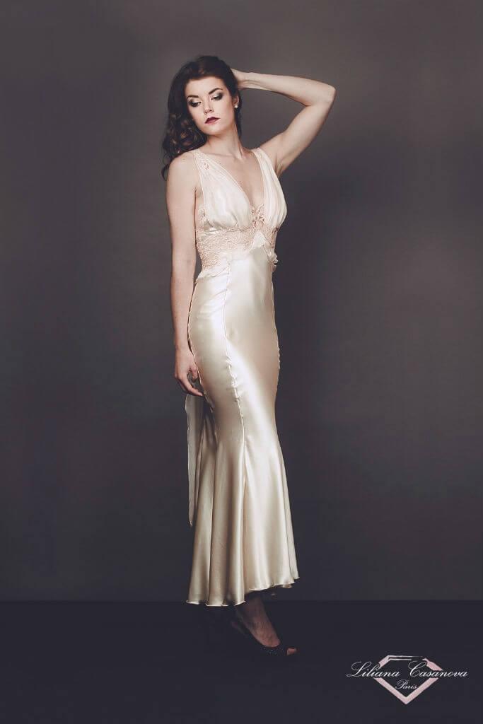 Liliana Casanova Chambord Gown