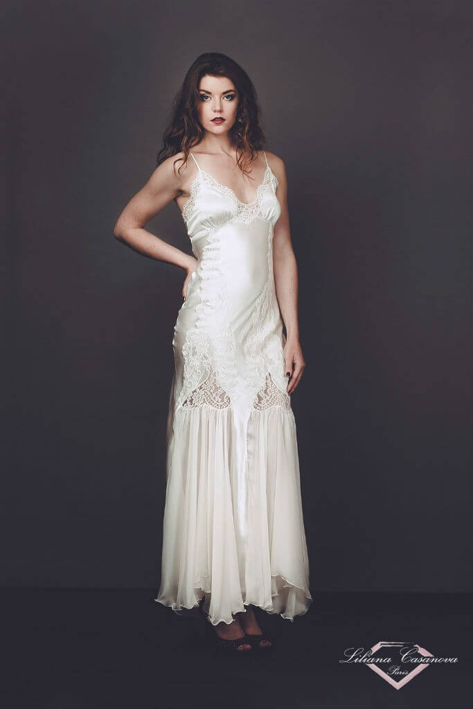 Liliana Casanova Chantilly Gown