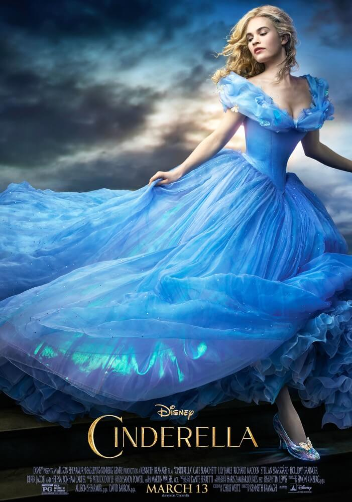 Lily James stars in Disney's upcoming live-action Cinderella film. It comes out next week but her waist has been making waves for months already.