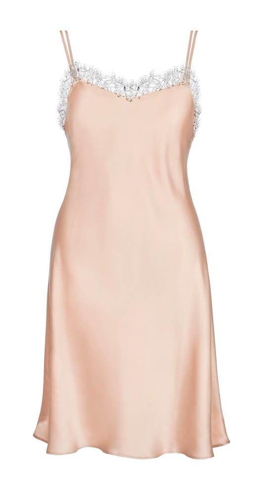 Love and Lustre - Silk Slip in Petal