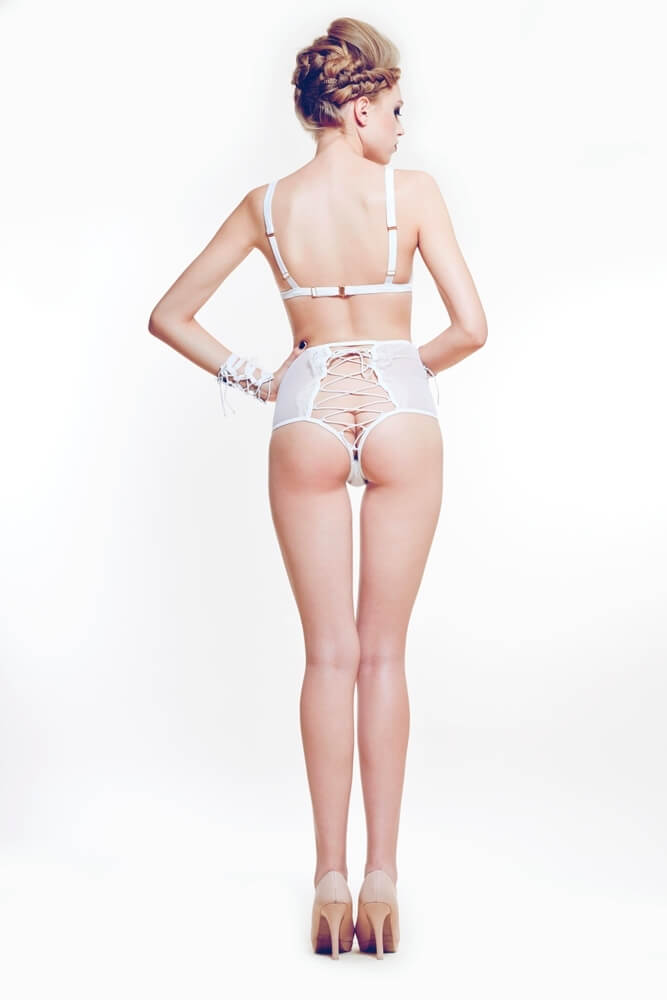 Ludique Lilith High Waist Knicker Back