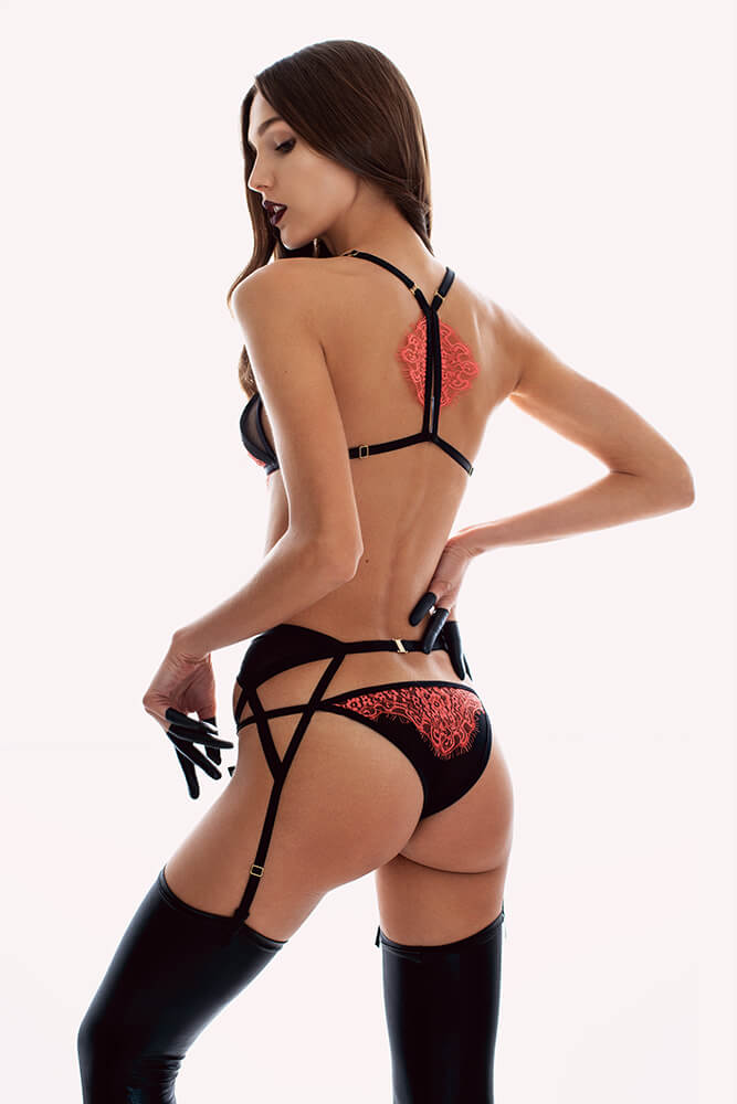 Ludique Rubra Knicker Back
