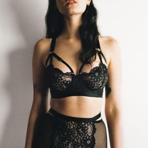 In the Desert: A Lingerie Editorial with Michelle Terris ...