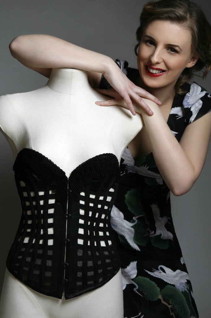 Lyzzy and Ventilated Corset Pic