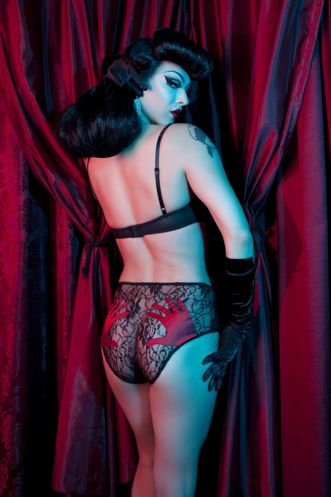 Violet Chachki for Bettie Page Lingerie by Playful Promises