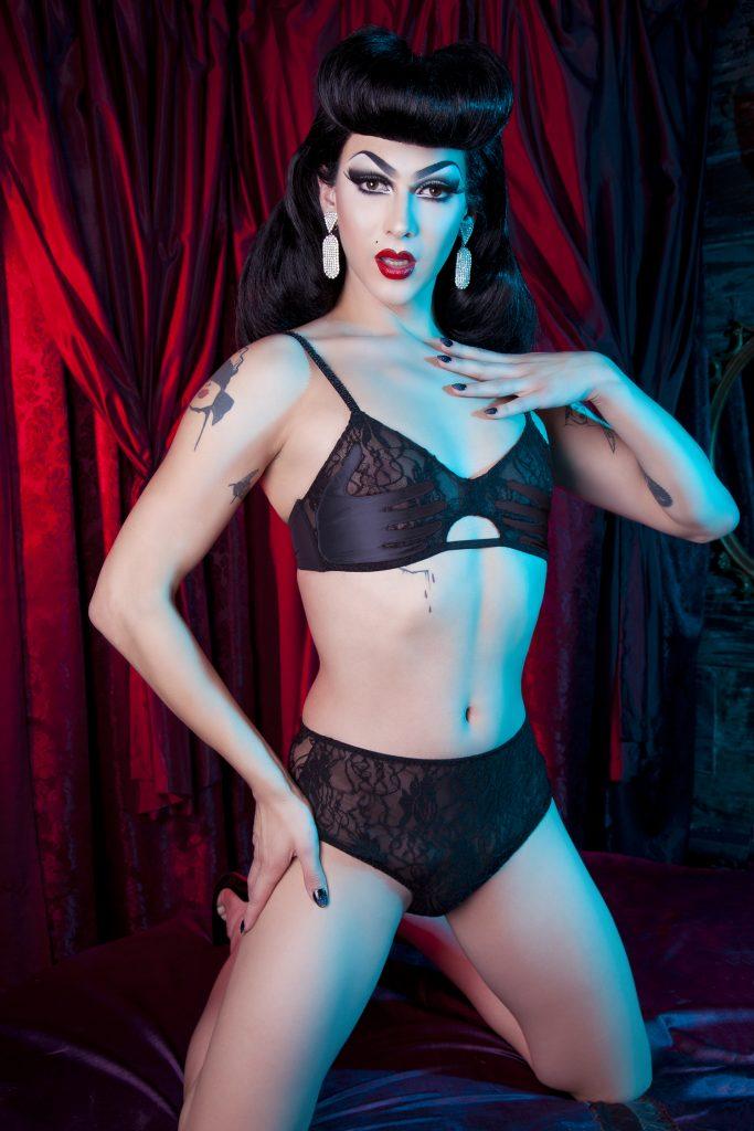 03de860d0 Violet Chachki: The New Face of Bettie Page Lingerie by Playful Promises
