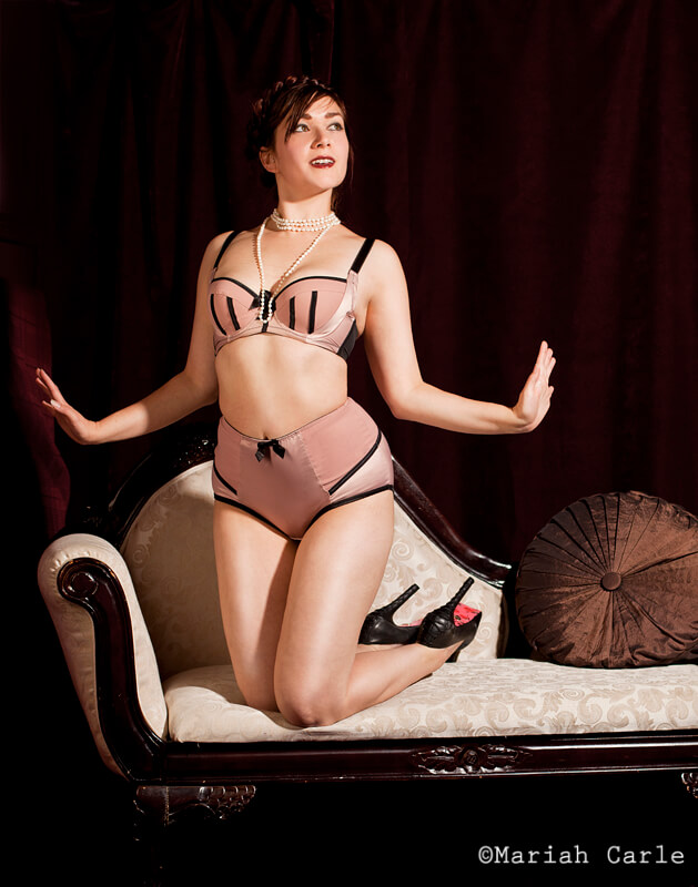 Charlotte Padded Bra & Highwaist Brief by Parfait by Affinitas     ©Mariah Carle     Modeled by Victoria Dagger