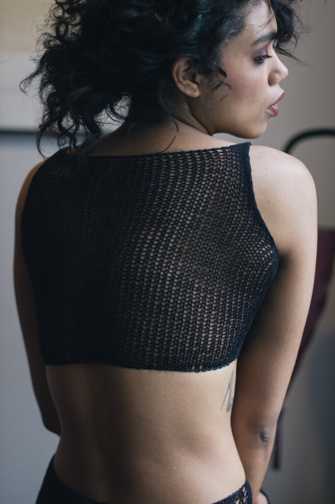Maude Nibelungen Crop Top Back