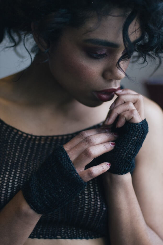 Maude Nibelungen Short Fingerless Gloves