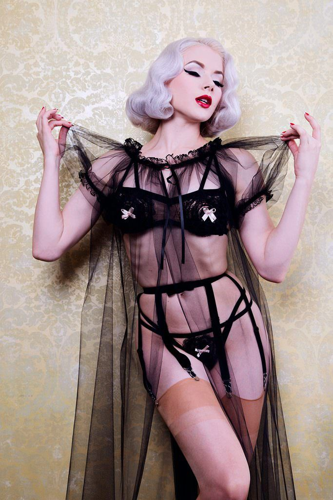 Lingerie Inspired by The Love Witch - Dottie's Delights