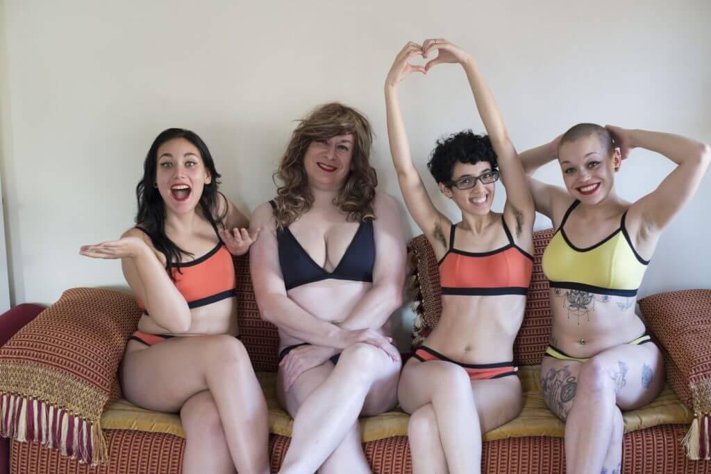 neon moon feminist lingerie