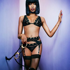 cc93ffa562 ... Naomi Campbell for Agent Provocateur Spring Summer 2015   Wanted Badly