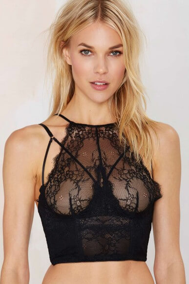 The 'Pour Vous' bustier by Nastygal, retailing at $68.