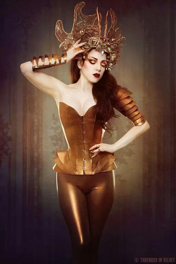 Neon Duchess © Iberian Black Arts model Threnody in Velvet