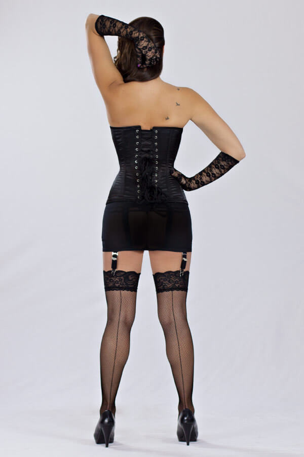 5a986cb8dc Orchard Corset Steel-Boned Overbust in Satin (CS-511)