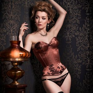 En Plein Air: Handmade Lingerie & Corset Pairings from Orchid Corsetry