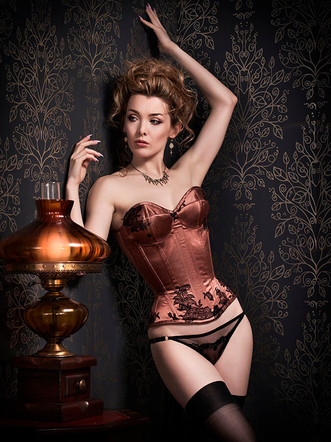 Orchid Corsetry Julian Kilsby Miss Miranda cupped corset