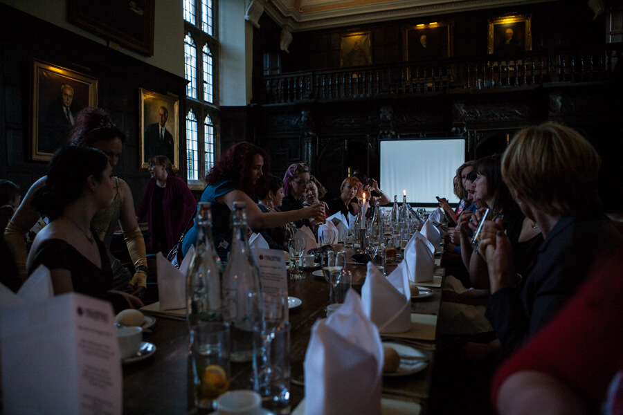 Oxford Conference of Corsetry - Dinner