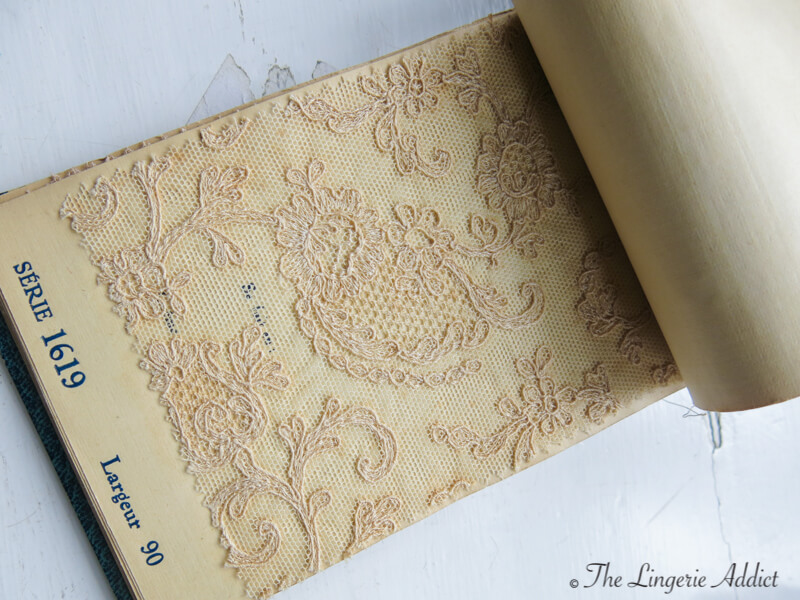 Oxford Conference of Corsetry Sample Lace Book