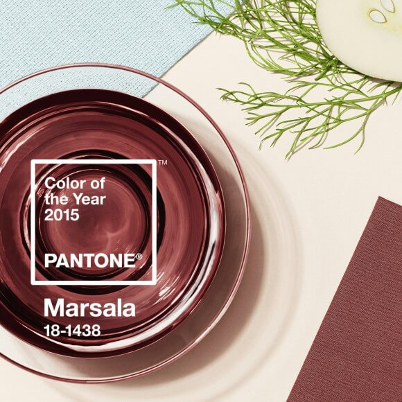 Pantone Color of the Year 2015 - Marsala via Pantone