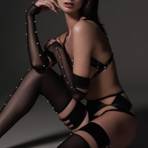 Lingerie Wishlist: Ludique Pearl Garter Stockings