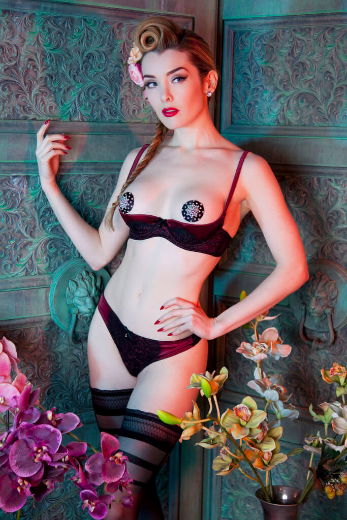 Playful Promises AW15 Open Cup Bra