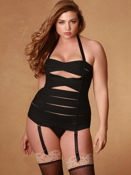Bandage Bustier by Hips and Curves