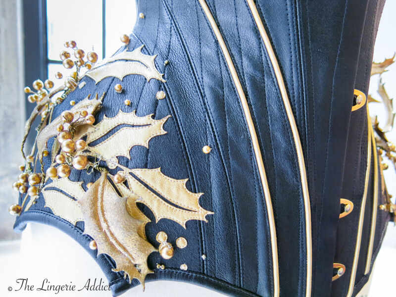 Royal Black Corsetry 4
