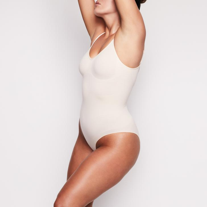 Kim Kardashian SKIMS Sculpting Bodysuit with Snaps