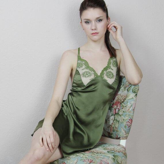 Sandmaiden green chemise