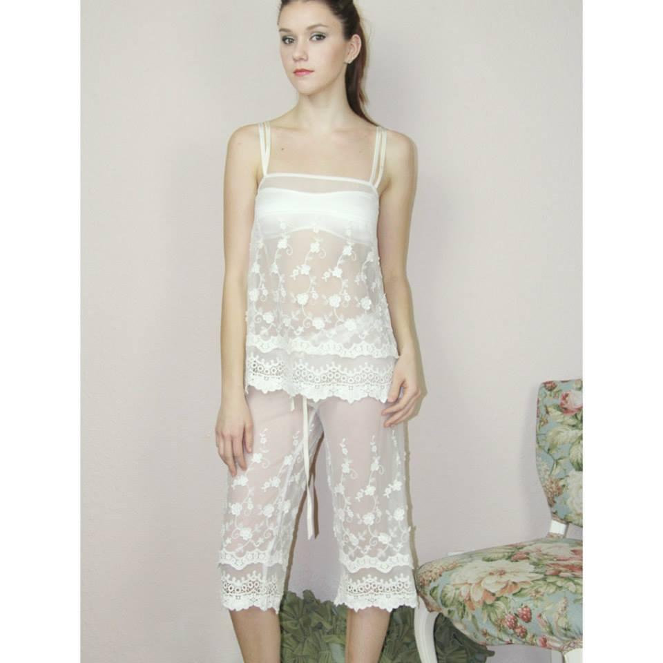 Sandmaiden lace pajamas