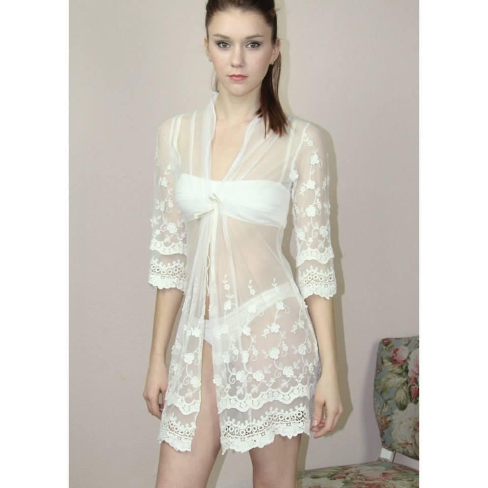 Sandmaiden lace robe