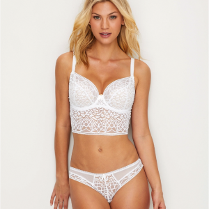 5 Beautiful White Bras That Aren't Boring
