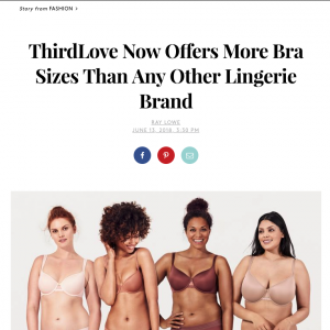 Fact Check: Does ThirdLove Offer More Bra Sizes Than Any Other Lingerie Brand?