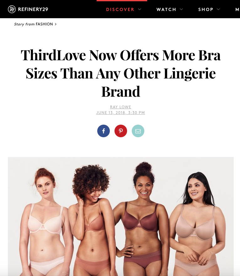 79b571a7b78c2 Fact Check  Does ThirdLove Offer More Bra Sizes Than Any Other Lingerie  Brand
