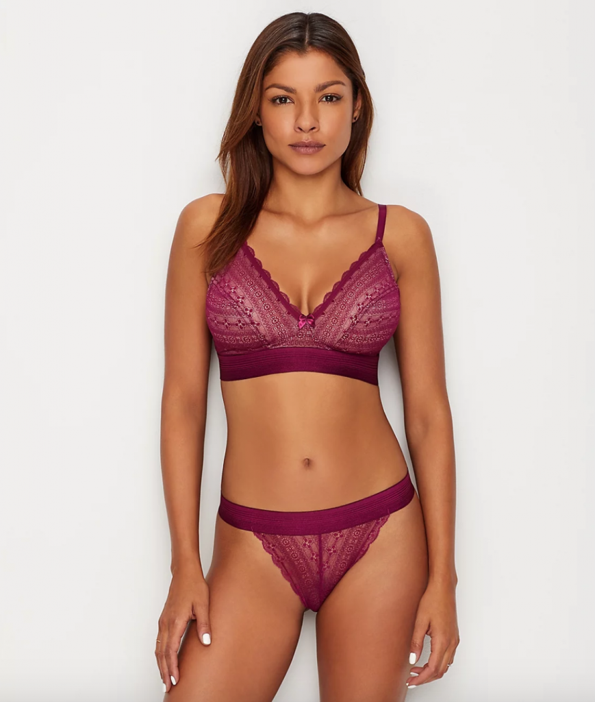 Cleo by Panache Lyzy Bralette in Wine