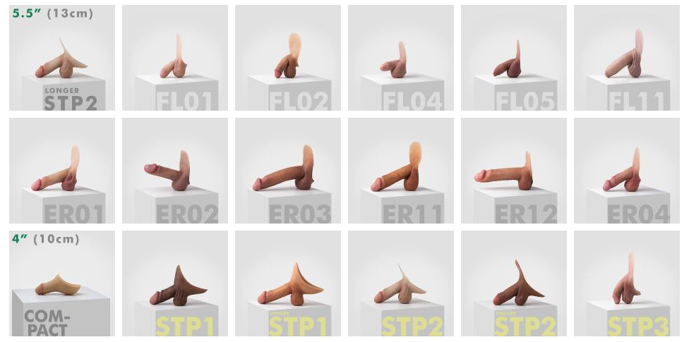 Emisil silicone prosthesis for packing